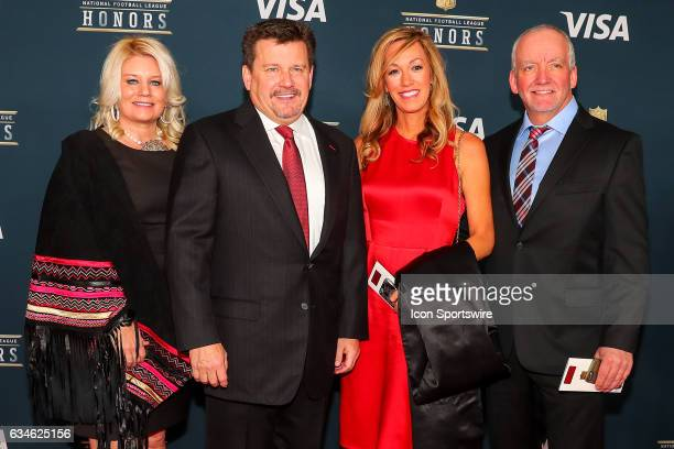 Bill Bidwell on the Red Carpet at the 2017 NFL Honors on February 04 at the Wortham Theater Center in Houston Texas
