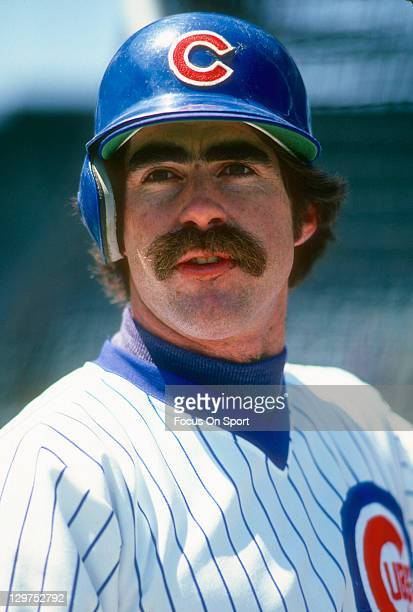 Bill Buckner of the Chicago Cubs looks on during an Major League Baseball game circa 1979 at Wrigley field in Chicago Illinois Buckner played for the...