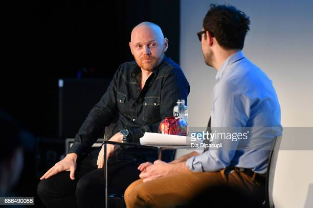 Bill Burr speaks onstage at the Bill Burr A Good One Podcast panel during the 2017 Vulture Festival at Milk Studios on May 21 2017 in New York City