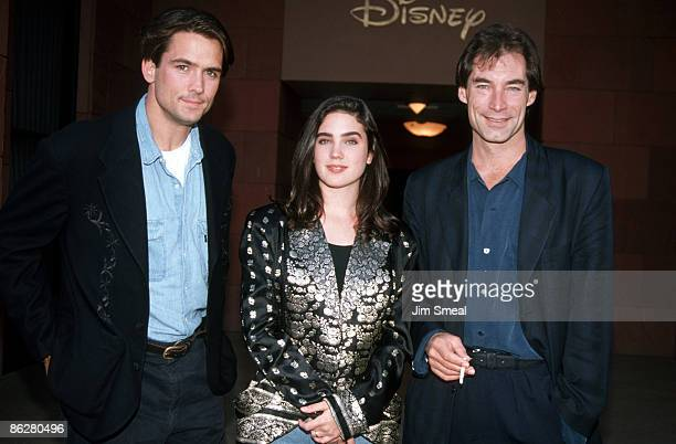 Bill Campbell Jennifer Connelly and Timothy Dalton