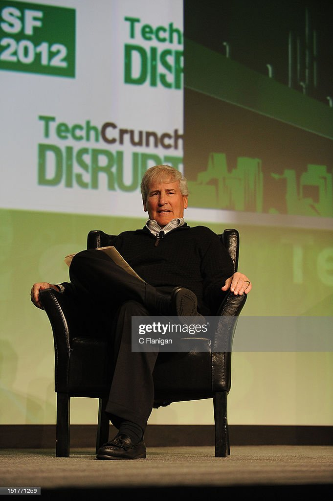 Bill Campbell (Intuit) speaks at the Tech:Crunch Disrupt SF 2012 Conference on September 10, 2012 in San Francisco, California.