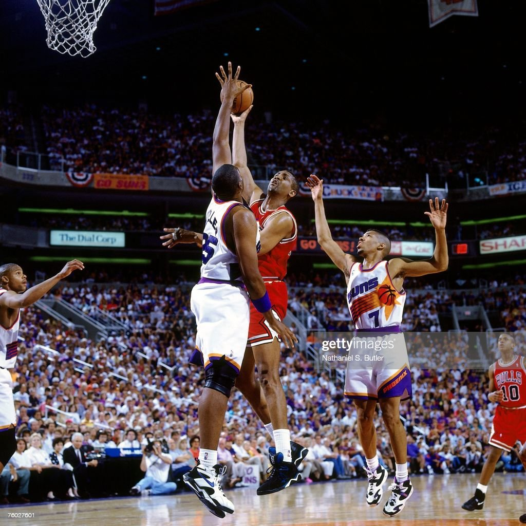 1993 NBA Finals Game 2 Chicago Bulls vs Phoenix Suns
