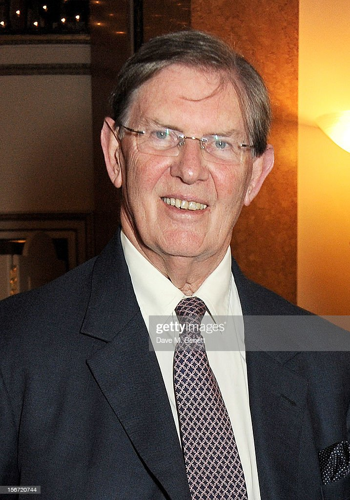Bill Cash attends the Maastricht Rebellion 20th Anniversary dinner at The Landsdowne Club on November 19, 2012 in London, England.