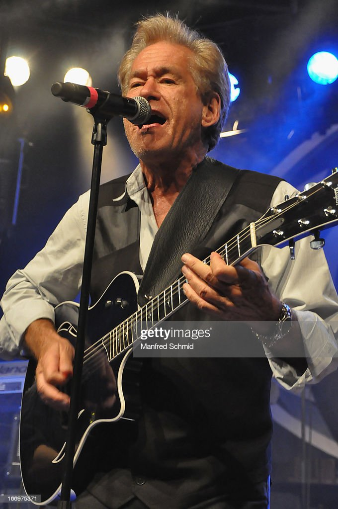 Bill Champlin formerly of Chicago performs onstage during the 30th anniversary party of Szene Wien on April 18, 2013 in Vienna, Austria.