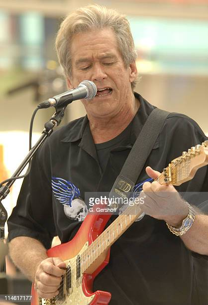 Bill Champlin of Chicago during Chicago Performs on NBC's 'The Today Show' July 28 2006 at NBC Studios in New York New York United States