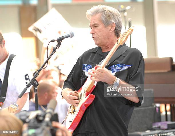 Bill Champlin of Chicago during Chicago Performs on 'The Today Show' July 28 2006 at Rockefeller Center in New York City New York United States