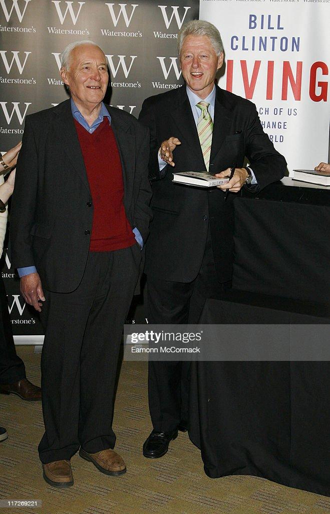 Bill Clinton -Book signing