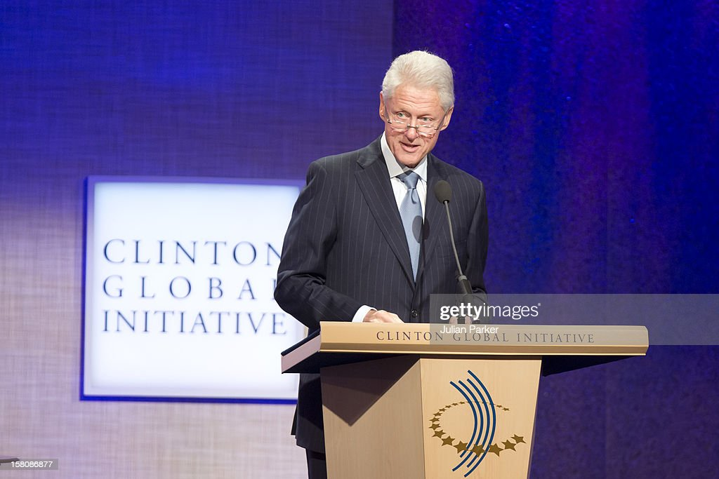 Bill Clinton Attending The Opening Session Of The Clinton Global Initiative 'Designing For Impact ' At The Sheraton Hotel And Towers In New York, Usa.