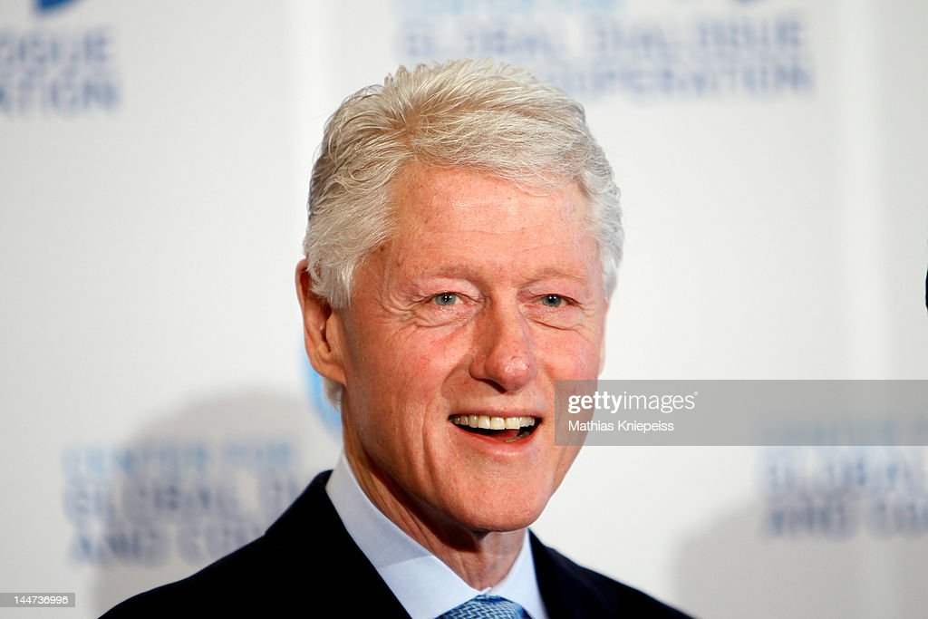 <a gi-track='captionPersonalityLinkClicked' href=/galleries/search?phrase=Bill+Clinton&family=editorial&specificpeople=67203 ng-click='$event.stopPropagation()'>Bill Clinton</a> attends the third day of the CGDC Annual Meeting on May 18, 2012 in Vienna, Austria. The Center for Global Dialogue and Cooperation (CGDC) is a politically independent, international Non-Governmental Organization which fosters dialogue between business and politics to create international standards in transparency.