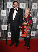 Bill Collins and Joan Collins arrive at the 11th Annual ASTRA Awards at Sydney Theatre on July 25 2013 in Sydney Australia