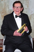 Bill Collins poses with the award for Lifetime Achievement at the 11th Annual ASTRA Awards at the Sydney Theatre on July 25 2013 in Sydney Australia