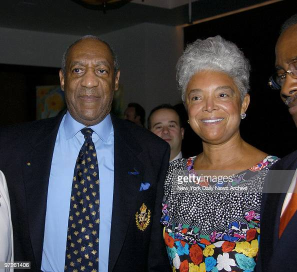 Bill Cosby and wife Camille talk with pals at a party celebrating the opening of Le Cirque restaurant at its new location at One Beacon Court on E...