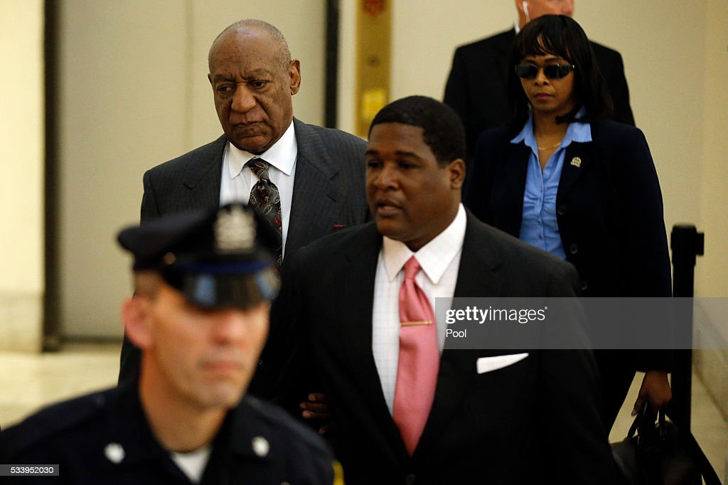 Bill Cosby arrives at the Montgomery County Courthouse for a preliminary hearing May 24, 2016 in Norristown, Pennsylvania. Cosby is accused of drugging and molesting a woman at his home in 2004.