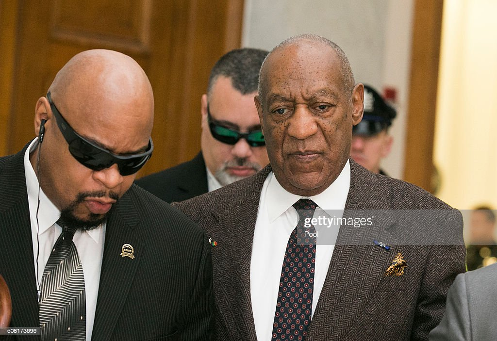 <a gi-track='captionPersonalityLinkClicked' href=/galleries/search?phrase=Bill+Cosby&family=editorial&specificpeople=206281 ng-click='$event.stopPropagation()'>Bill Cosby</a> arrives for the second day of hearings at the Montgomery County Courthouse February 3, 2016 in Norristown, Pennsylvania. Cosby has been accused of sexually abusing several women.