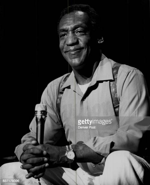 Bill Cosby at the Paramount Theater performing one of two nights Credit The Denver Post