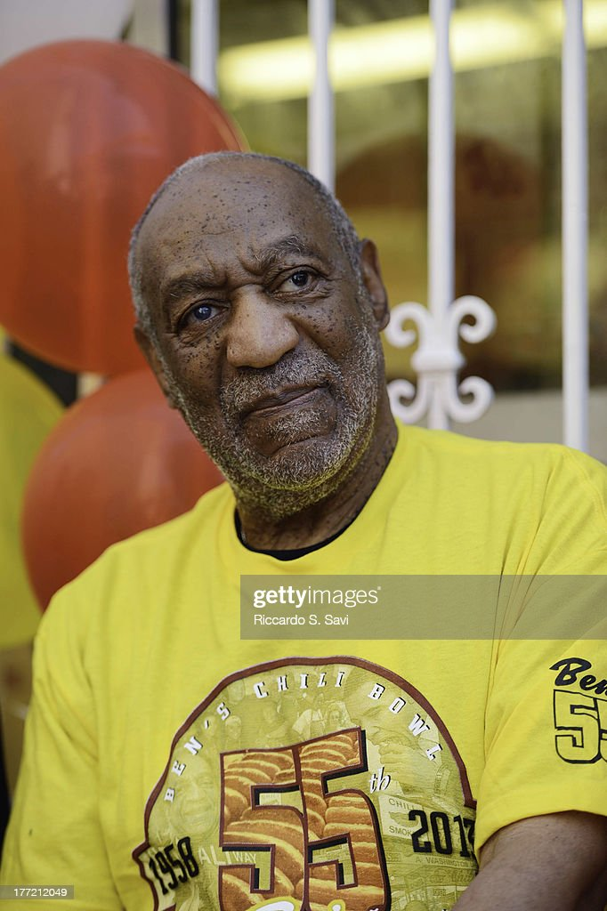 <a gi-track='captionPersonalityLinkClicked' href=/galleries/search?phrase=Bill+Cosby&family=editorial&specificpeople=206281 ng-click='$event.stopPropagation()'>Bill Cosby</a> attends the 55th Anniversary of Ben's Chili Bowl on August 22, 2013 in Washington, DC.