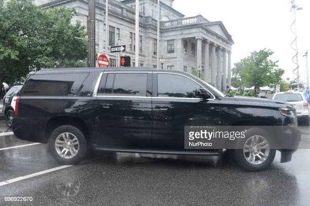 Bill Cosby departs after judge Steven O'Neill declares a mistrial in the aggravated indecent assault trail of entertainer Bill Cosby at Montgomery...