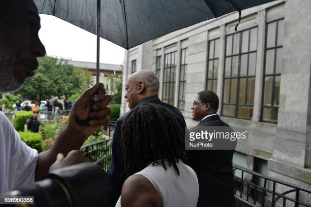 Bill Cosby departs Montgomery County Courthouse after judge Steven O'Neill declares a mistrial in the aggravated indecent assault trail of...