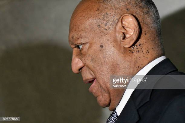 Bill Cosby departs Montgomery Courthouse after the fifth day of jury deliberations in the aggravated indecent assault trail in Norristown...