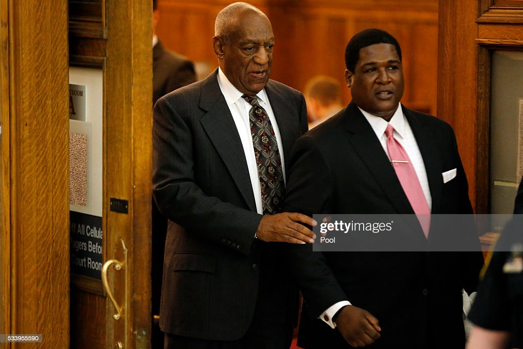 Bill Cosby departs the Montgomery County Courthouse after a preliminary hearing, May 24, 2016, in Norristown, Pennsylvania. Cosby was ordered to stand trial on sexual assault charges after a hearing that hinged on a decade-old police report.