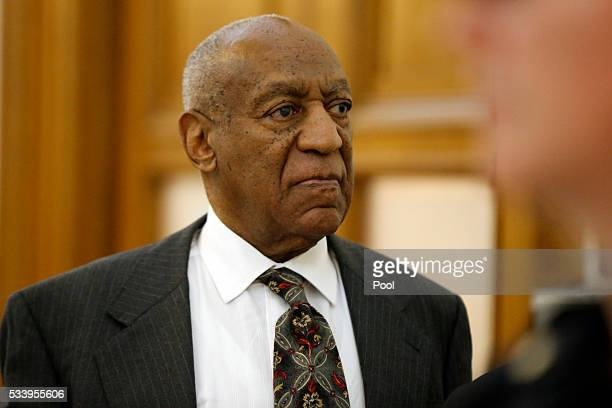 Bill Cosby departs the Montgomery County Courthouse after a preliminary hearing May 24 in Norristown Pennsylvania Cosby was ordered to stand trial on...