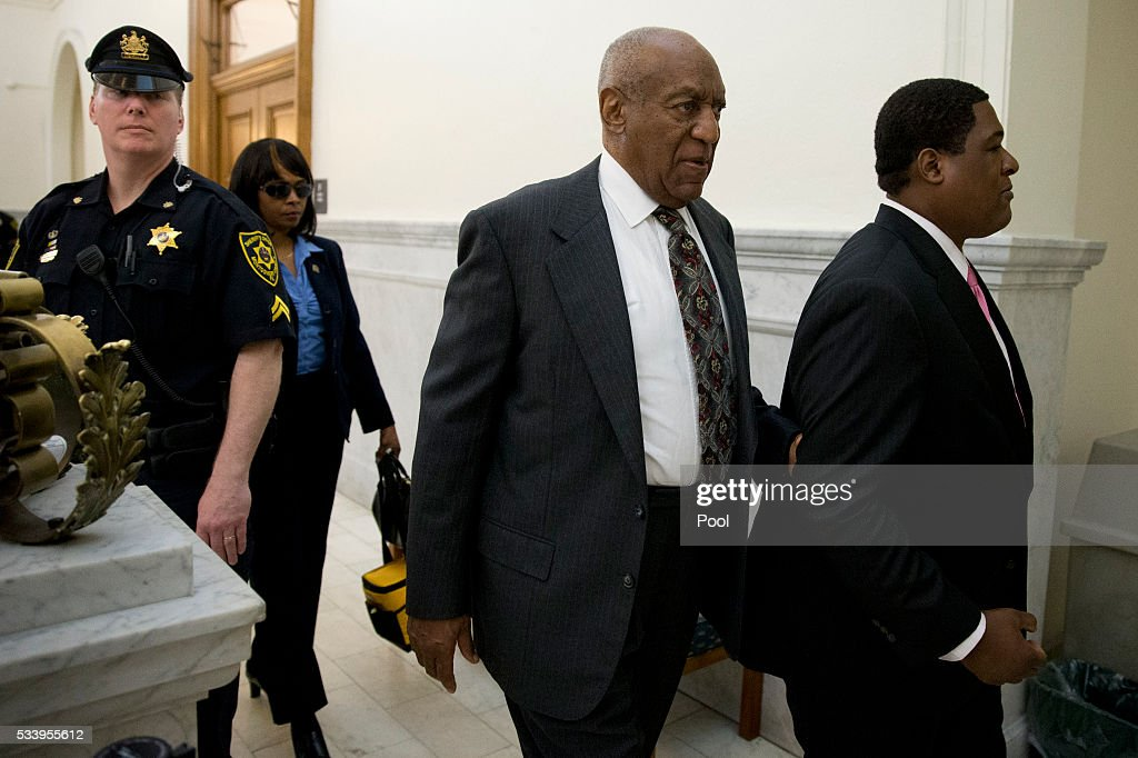 Bill Cosby departs the Montgomery County Courthouse after a preliminary hearing, May 24, 2016, in Norristown, Pennsylvania. Cosby has been ordered to stand trial in the lone criminal case lodged amid dozens of accusations that he molested women.