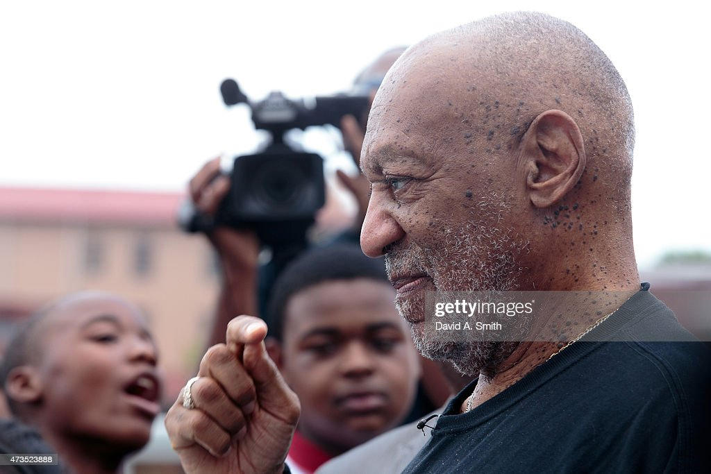 <a gi-track='captionPersonalityLinkClicked' href=/galleries/search?phrase=Bill+Cosby&family=editorial&specificpeople=206281 ng-click='$event.stopPropagation()'>Bill Cosby</a> participates in the Black Belt Community Foundation's March for Education across the Edmund Pettus Bridge on May 15, 2015 in Selma, Alabama.