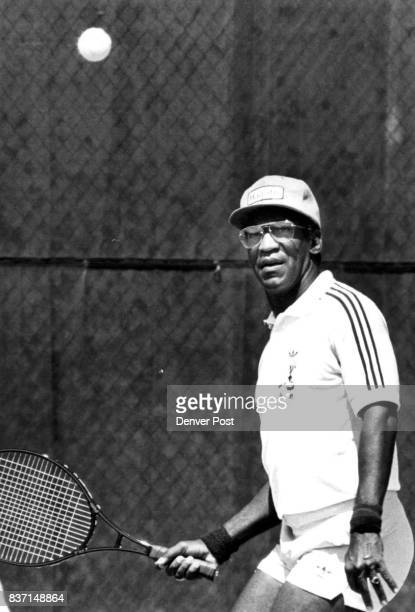Bill Cosby plays to help Denver's innercity youth learn tennis Credit Denver Post