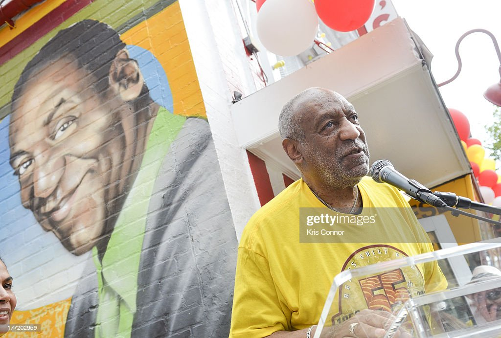 <a gi-track='captionPersonalityLinkClicked' href=/galleries/search?phrase=Bill+Cosby&family=editorial&specificpeople=206281 ng-click='$event.stopPropagation()'>Bill Cosby</a> speaks during the 55th Anniversary of Ben's Chili Bowl on August 22, 2013 in Washington, DC.