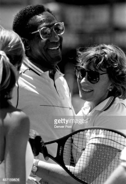 Bill Cosby was one of the more popular celebrities at the Cystic Fibrosis Tournament Credit The Denver Post