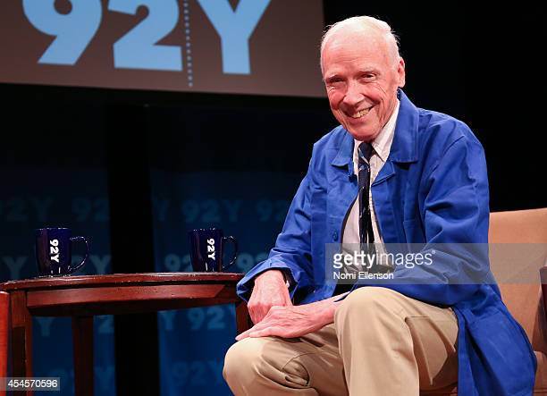 Bill Cunningham at Fashion Icons With Fern Mallis at 92nd Street Y on September 3 2014 in New York City