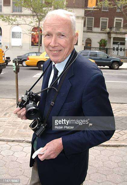 Bill Cunningham during The 24th Annual Frederick Law Olmsted Awards Luncheon at Central Parks Conservatory Garden in New York City New York United...