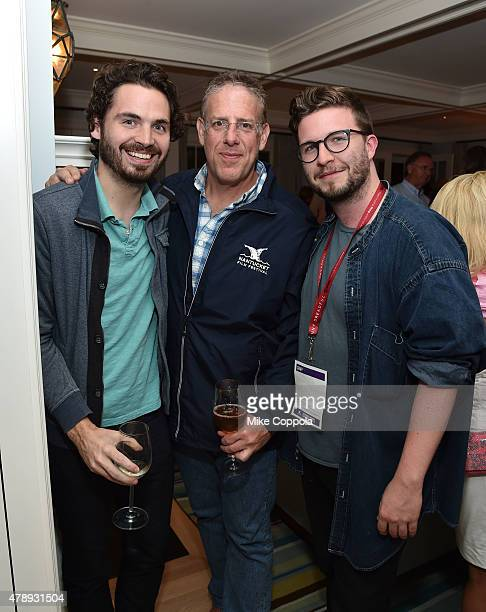 Bill Curran and Jonathan Burkhart attend the 'Closing Party' event during the 20th Annual Nantucket Film Festival Day 5 on June 28 2015 in Nantucket...
