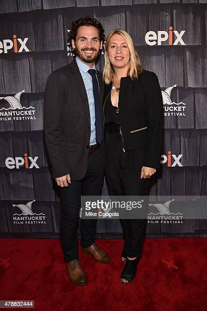 Bill Curran and Mystelle Brabbee attend the 'Screenwriters Tribute' event during the 20th Annual Nantucket Film Festival Day 4 on June 27 2015 in...