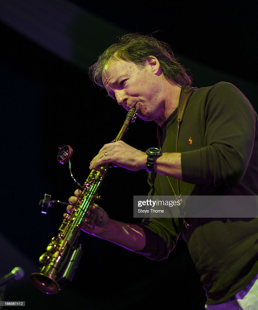 Bill Evans performs on stage on Day 5 of Cheltenham Jazz Festival on May 5, 2013 in Cheltenham, England.