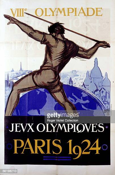 Bill for the Olympic Games of 1924 in Paris