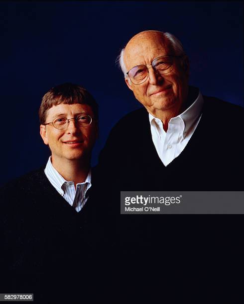 Bill Gates and Bill Gates Sr