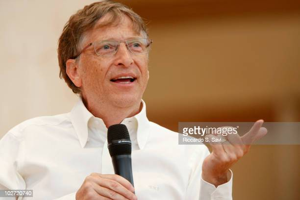 Bill Gates attends ' A Conversation with Bill Gates' on day 4 of Aspen Ideas Festival 2010 on July 8 2010 in Aspen Colorado