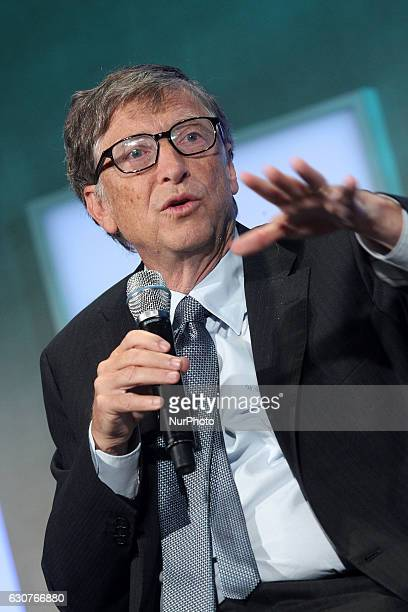 Bill Gates attends the Clinton Global Initiative on September 24 2013 in New York