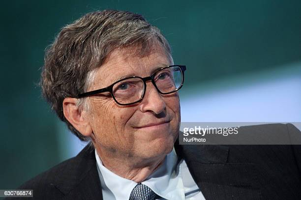 Bill Gates attends the Clinton Global Initiative September 24 2013 in New York