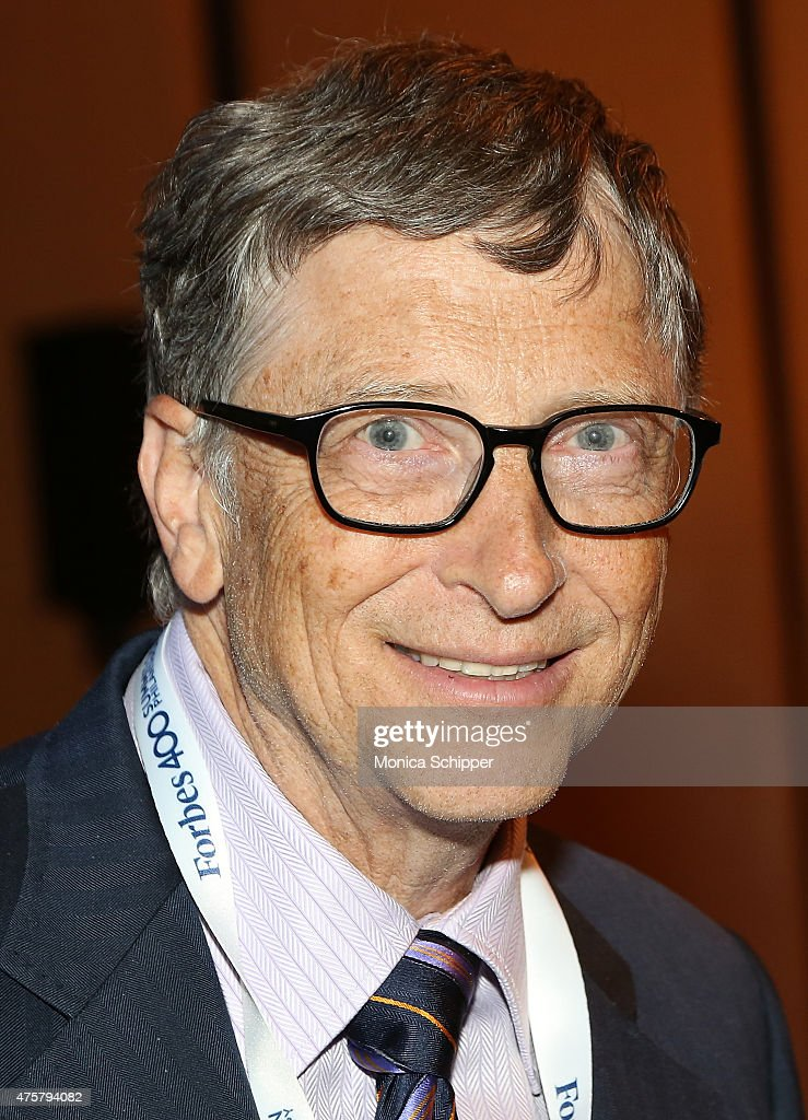<a gi-track='captionPersonalityLinkClicked' href=/galleries/search?phrase=Bill+Gates&family=editorial&specificpeople=202049 ng-click='$event.stopPropagation()'>Bill Gates</a> attends the Forbes' 2015 Philanthropy Summit Awards Dinner on June 3, 2015 in New York City.