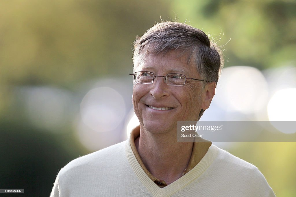 <a gi-track='captionPersonalityLinkClicked' href=/galleries/search?phrase=Bill+Gates&family=editorial&specificpeople=202049 ng-click='$event.stopPropagation()'>Bill Gates</a>, chairman of Microsoft, attends the Allen & Company Sun Valley Conference on July 7, 2011 in Sun Valley, Idaho. The conference has been hosted annually by the investment firm Allen & Company each July since 1983 and is typically attended by many of the world's most powerful media executives.