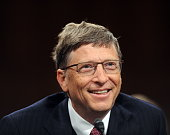 Bill Gates cochairman of the Bill and Melinda Gates Foundation testifies before the Senate Foreign Relations Committee full committee hearing on...