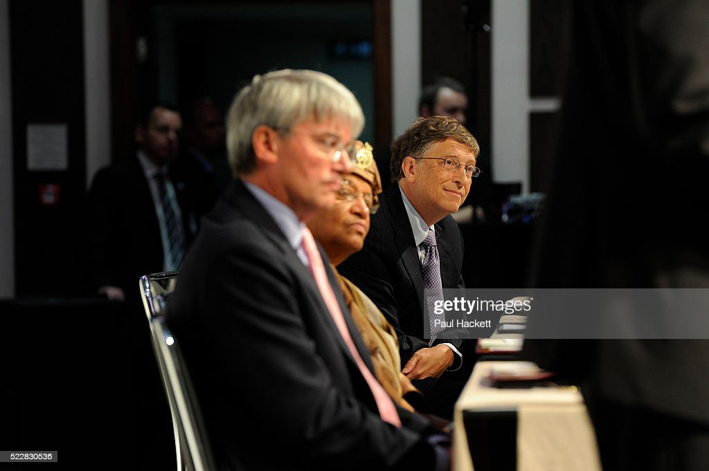 Bill Gates listening to speakers as Global leaders gather for the Gavi Alliance conference to drive a new, forceful impetus to immunisation efforts in the worlds poorest countries on 13th June 2016 in London, United Kingdom. Gavi, the Vaccine Alliance is a public-private global health partnership committed to increasing access to immunisation in poor countries. The organisation brings together developing country and donor governments, the World Health Organization, UNICEF, the World Bank, the vaccine industry in both industrialised and developing countries, research and technical agencies, civil society, the Bill & Melinda Gates Foundation and other private philanthropists.