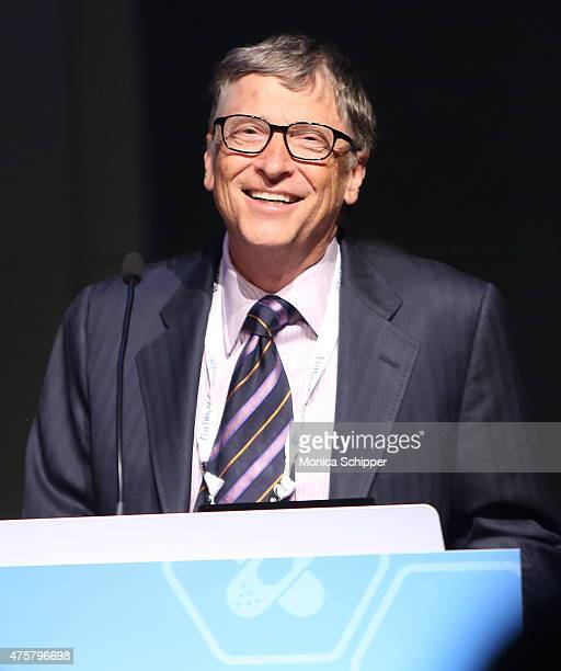 Bill Gates speaks at the Forbes' 2015 Philanthropy Summit Awards Dinner on June 3 2015 in New York City