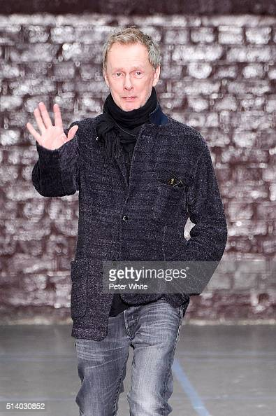 Bill Gaytten ia seen at the John Galliano show as part of the Paris Fashion Week Womenswear Fall/Winter 2016/2017 on March 6 2016 in Paris France