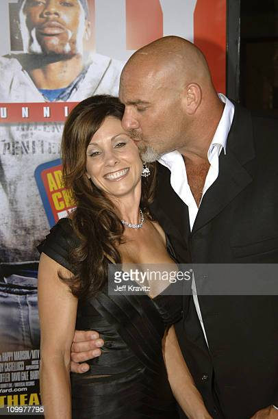Bill Goldberg and Wife during The Longest Yard Los Angeles Premiere Arrivals at Grauman's Chinese Theater in Hollywood California United States