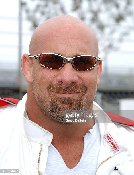 Bill Goldberg during 26th Annual Toyota Pro/Celebrity Race Press Day at Streets of Long Beach in Long Beach California United States