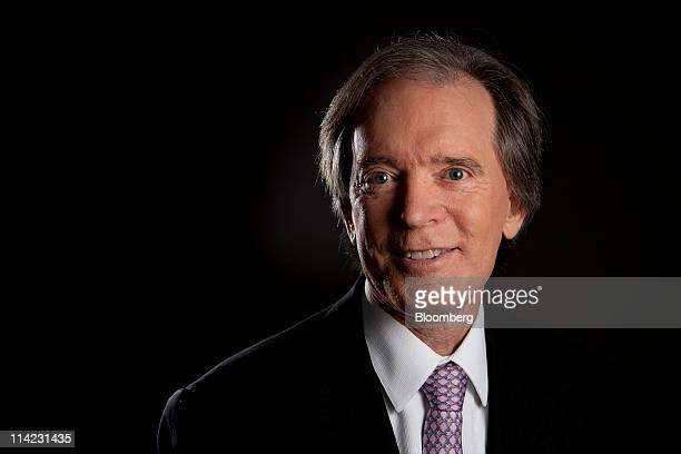Bill Gross cochief investment officer of Pacific Investment Management Co poses for a photograph in New York US on Monday May 16 2011 Treasury...
