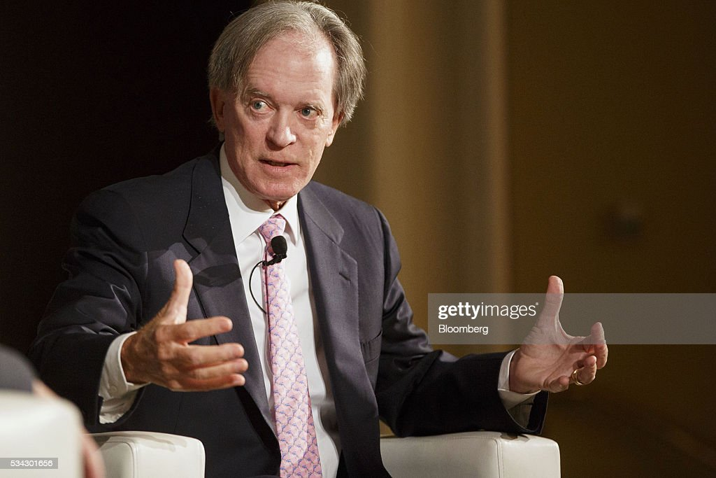 PIMCO Co-Founder Bill Gross Speaks At The Bloomberg FI16 Event : News Photo